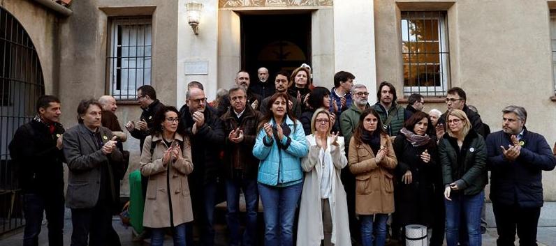 Consellers y diputados soberanistas inician un ayuno solidario de 24 horas