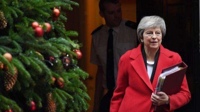 May se niega a descartar un retraso de la votación del acuerdo del Brexit