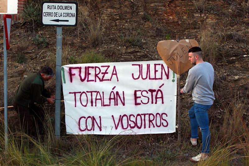 El Rescate De Julen Se Centra En La Construccion Del Tunel Vertical