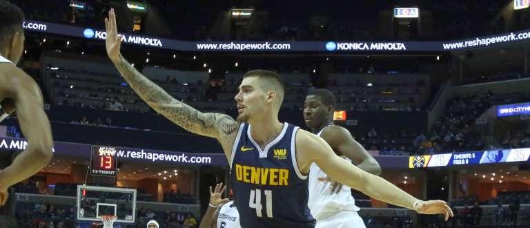 Juancho Hernangómez brilla en la victoria de Denver ante Memphis - Republica.com