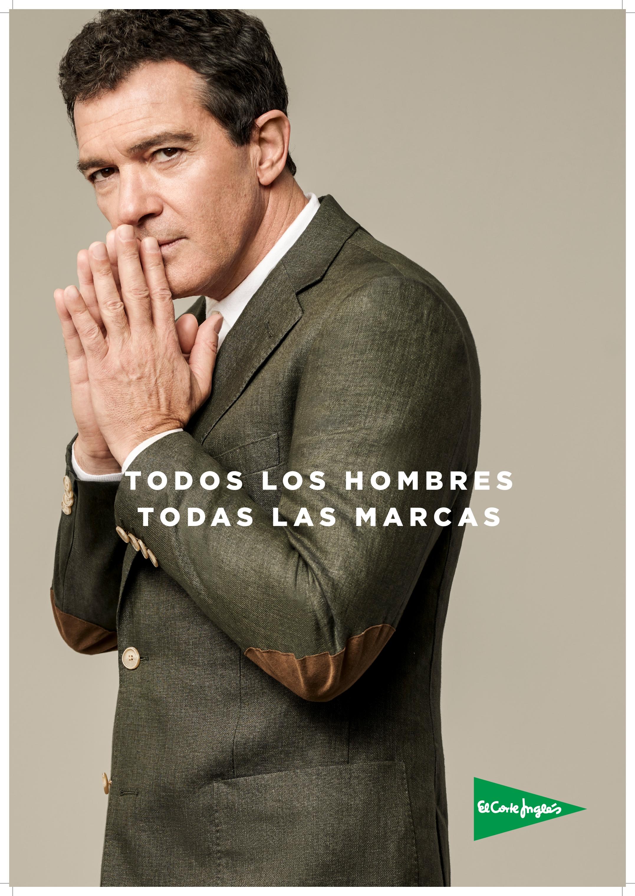 87a1c4c347 Antonio Banderas, protagonista de la nueva campaña de El Corte Inglés