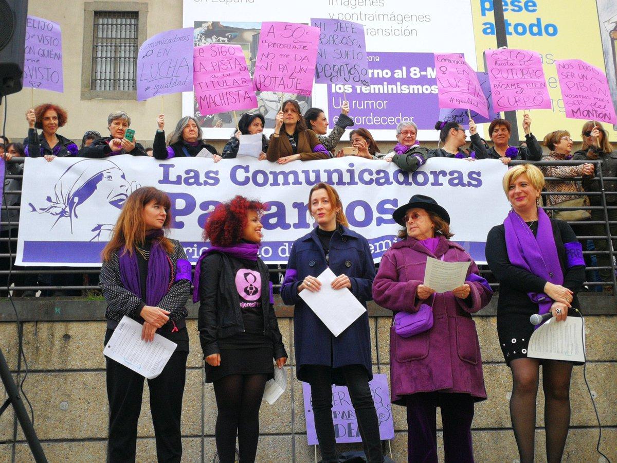 """Resultado de imagen de Las comunicadoras españolas reclaman un periodismo """"digno y feminista"""""""