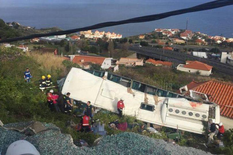 Varios muertos en un accidente de un autobús turístico en Madeira