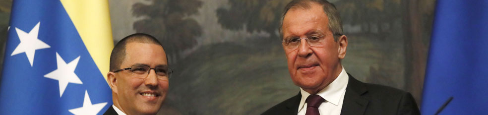 venezuela washington ministro arreaza indicó rusia presidente