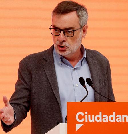 Cs seguirá sin líder hasta la primavera y se mantiene en el 'no' a un Gobierno PSOE-Podemos - Republica.com