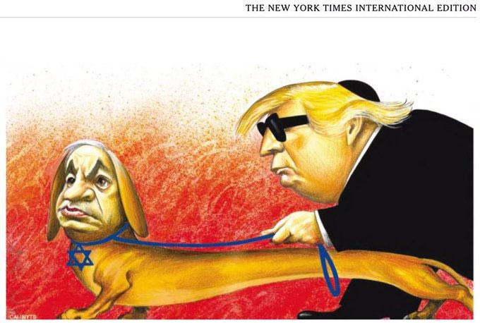 New York Times dejará de publicar viñetas políticas tras polémica antisemita