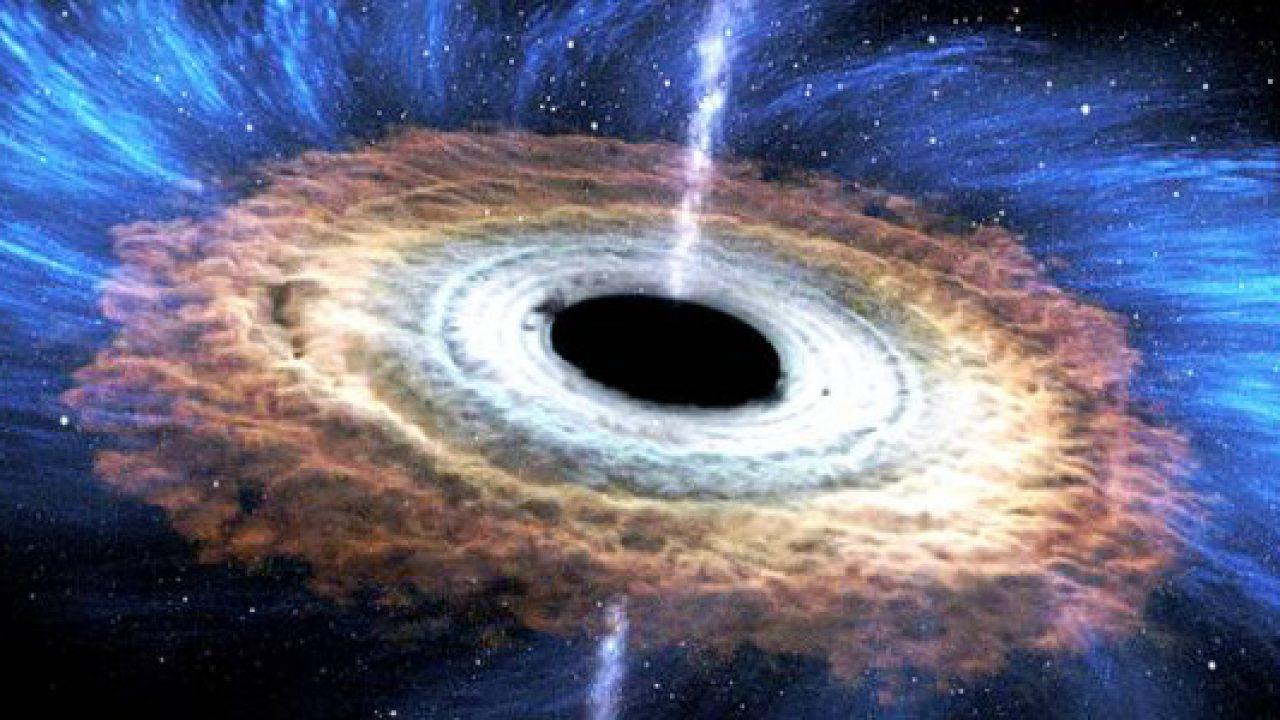 Detectan potentes vientos producidos por un agujero negro supermasivo