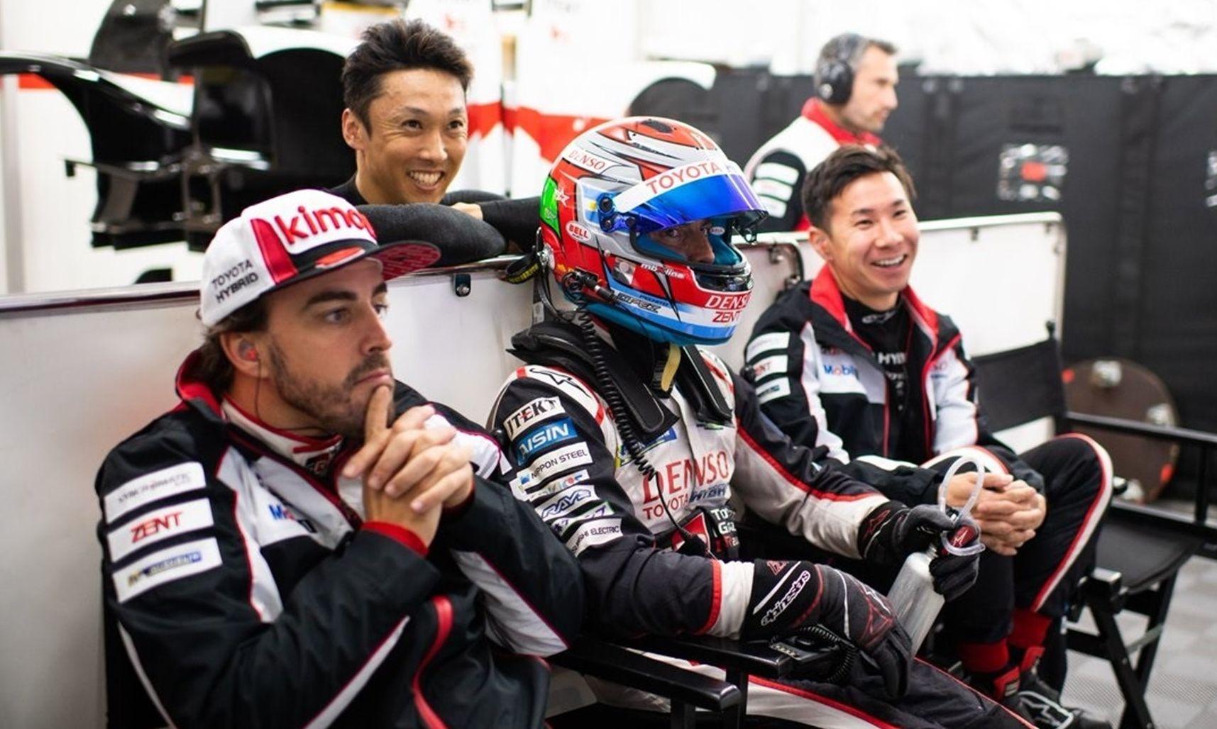 Circuito Fernando Alonso Precio : Fernando alonso saldrá con su toyota desde el segundo puesto en las
