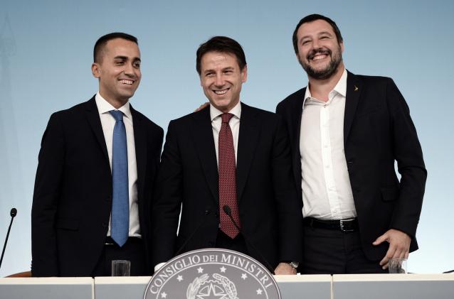 conte gobierno salvini país ministro m5s europeas italia
