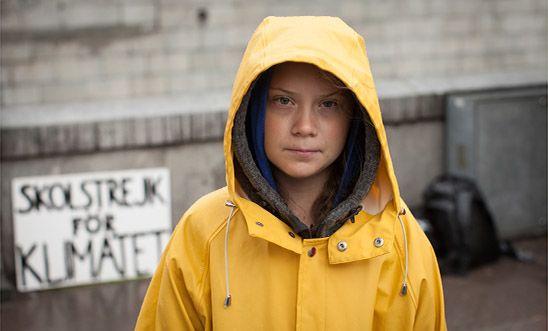 Greta Thunberg, premiada en Francia por la lucha contra el cambio climático