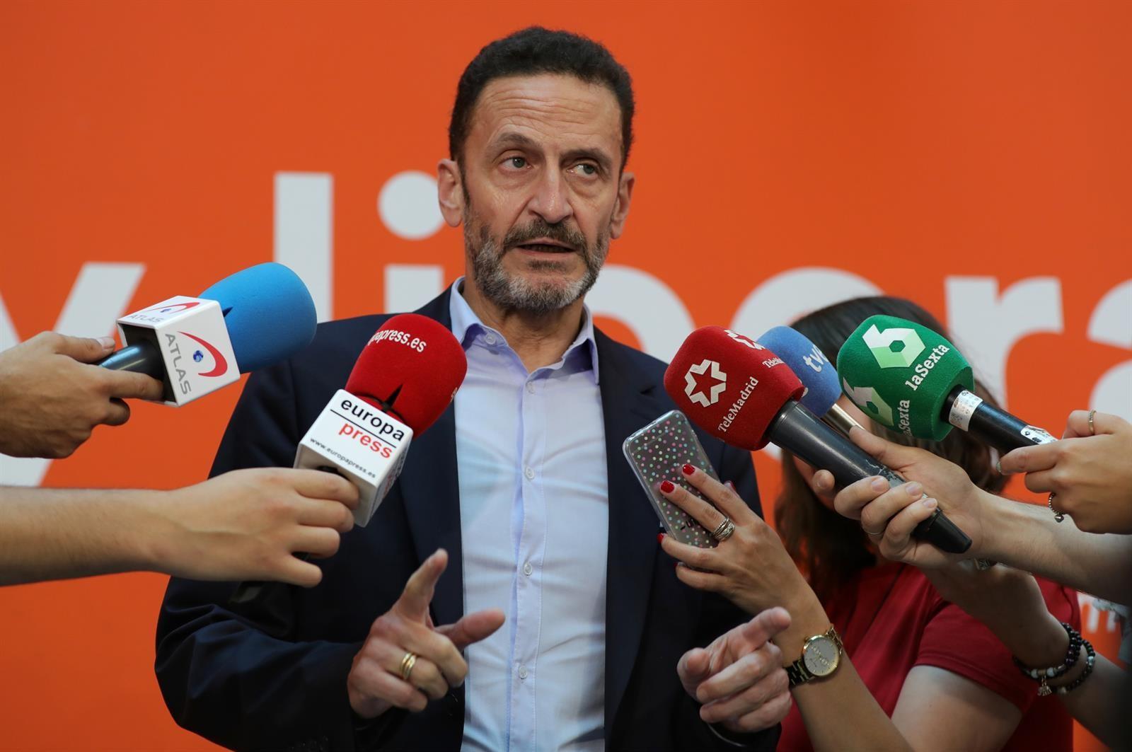 """Cs confía en la """"responsabilidad"""" de Vox para que desbloquee el acuerdo en Madrid"""