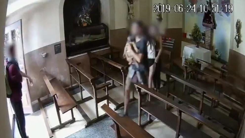 Los jóvenes que robaron el Cristo de Berga tendrán que acudir ante el juez
