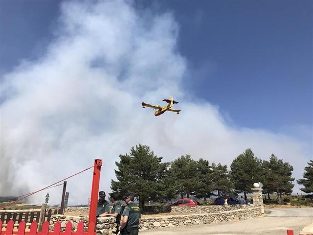 El incendio de Gran Canaria quema ya 1.000 hectáreas