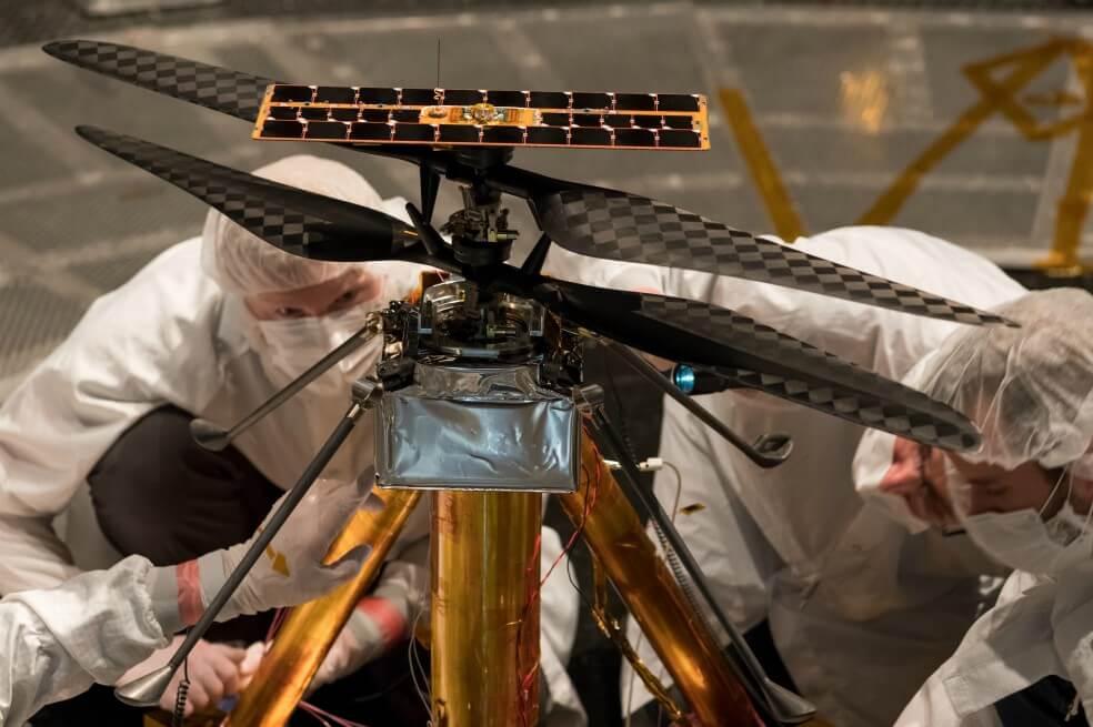 La NASA enviará por primera vez un helicóptero a explorar Marte en 2020