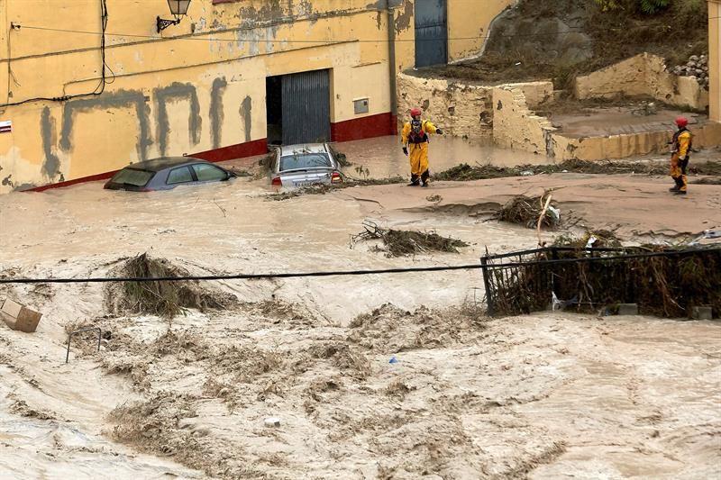 Gota fría: alerta roja sin precedentes en Alicante, Valencia y Murcia
