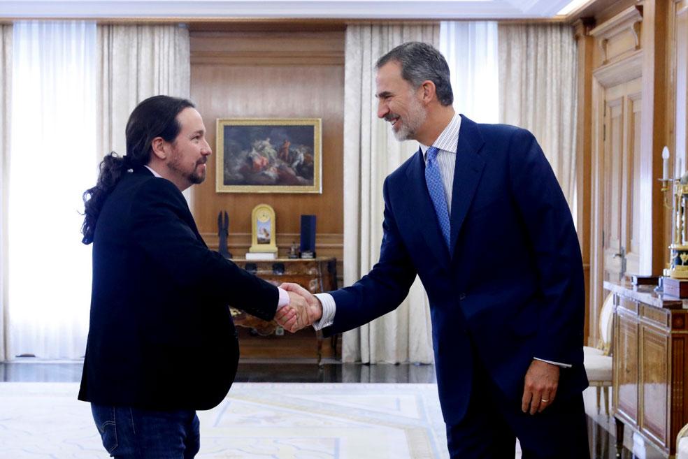 Iglesias da por constatada la 'tendencia natural' de Sánchez a pactar con la derecha