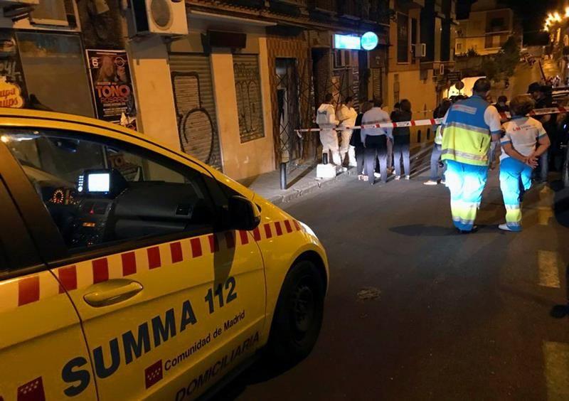 Detenido tras matar de varias puñaladas a su pareja en Madrid delante de sus hijas