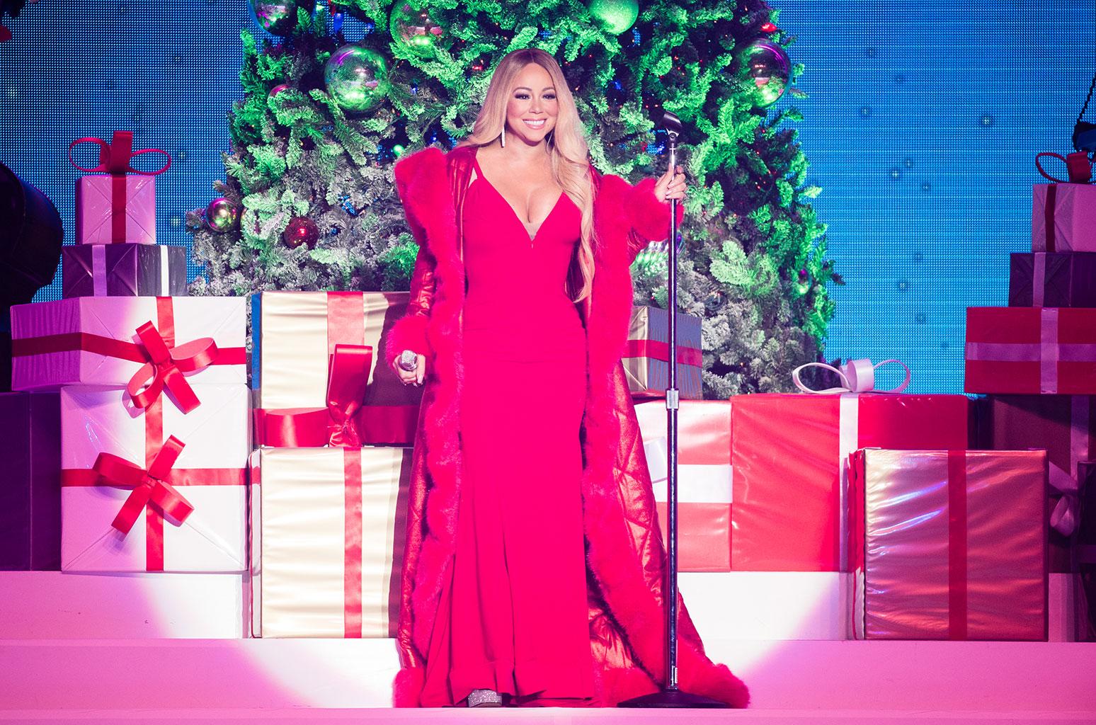 Mariah Carey arranca la Navidad con