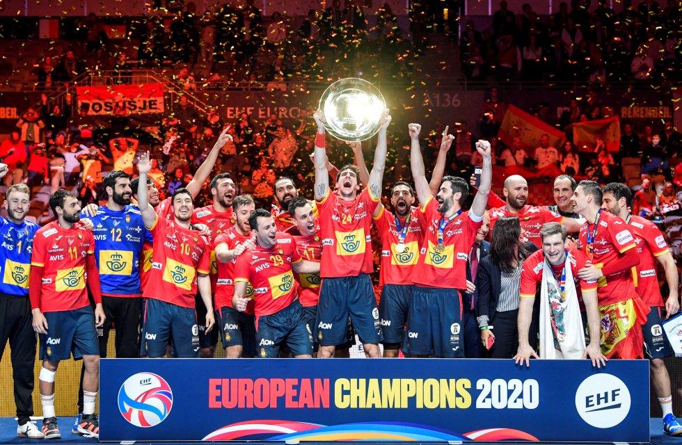 España gana el Europeo de balonmano y estará en Tokio 2020