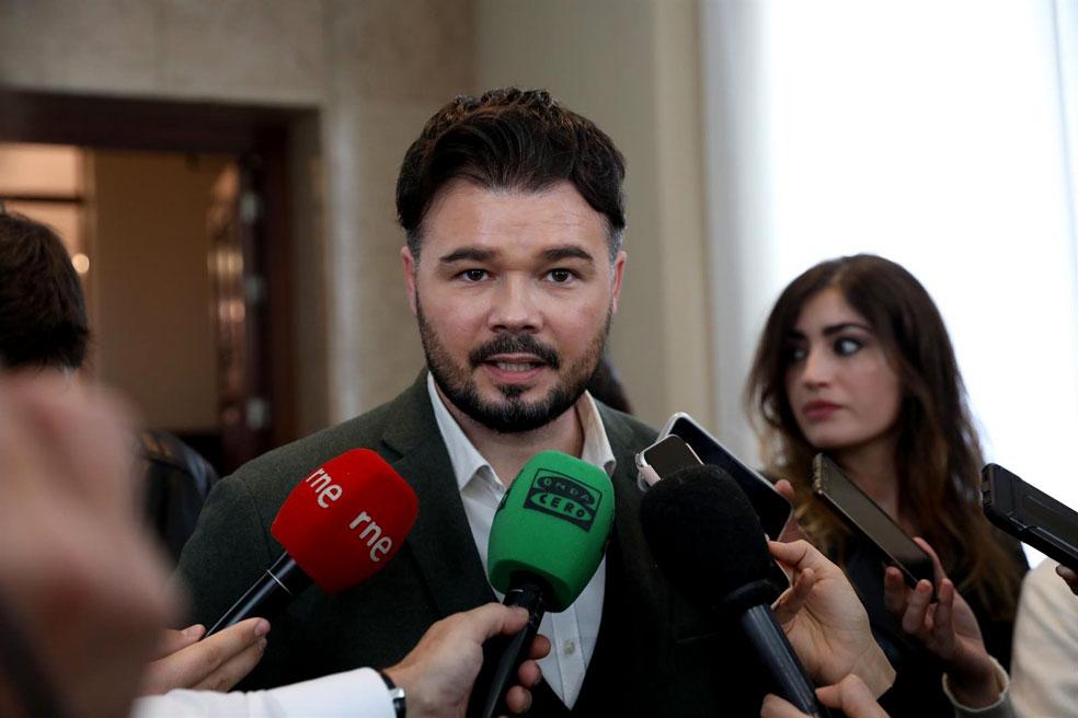 [ERC] Gabriel Rufián: ''ERC no será partícipe de esta nueva falsa Transición'' Rufian-d