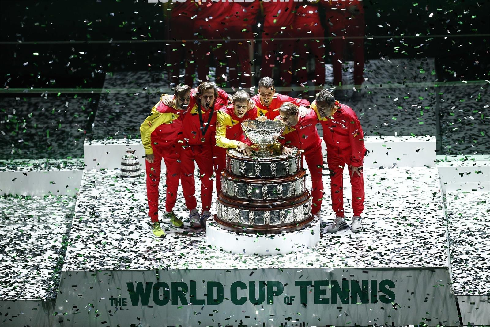 España encabeza de serie en el sorteo de la Copa Davis