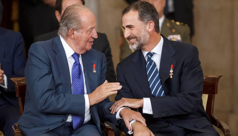 Resultado de imagen de FelipeVI Juan Carlos I
