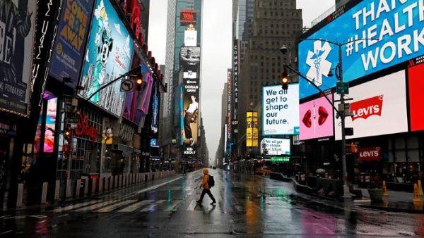 La economía de EEUU se hunde un 4,8% en el primer trimestre, la ...