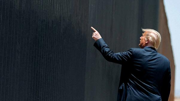 """Trump presume de que su """"muro"""" con México frenó la entrada del coronavirus en EEUU"""