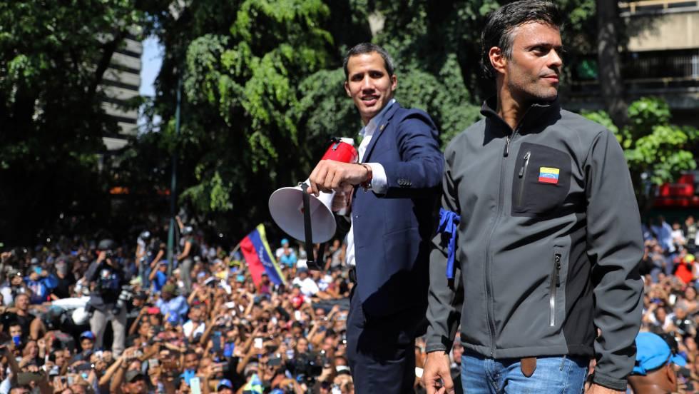 El chavismo suspende a la cúpula del partido de Leopoldo López y Juan Guaidó