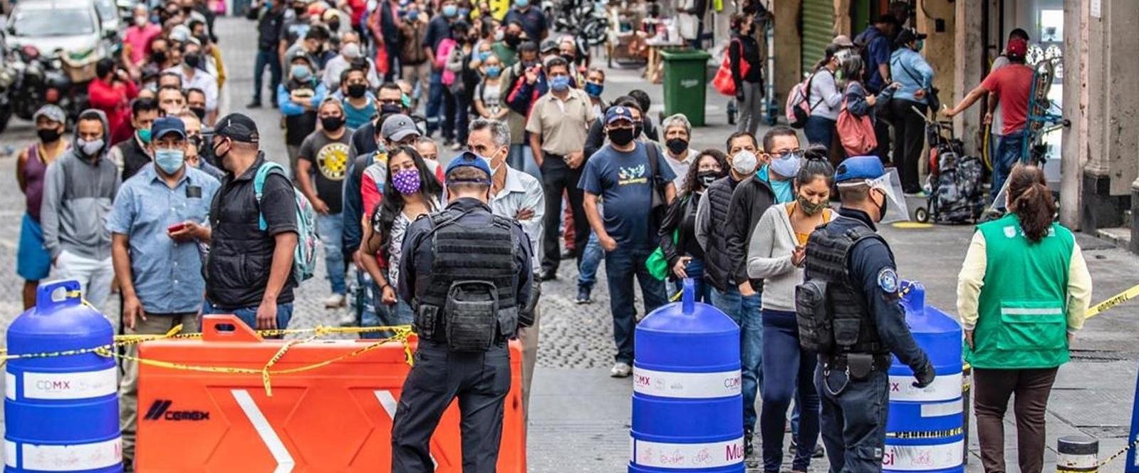 México roza las 1.000 muertes en un día y ya supera los 32.000 fallecimientos por coronavirus