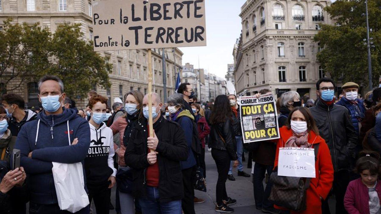 """Francia confirma dos nuevos arrestos, incluido un """"activista islamista"""", en  el caso del profesor asesinado - Republica.com"""