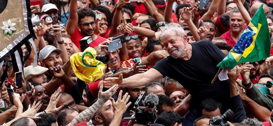 """Lula: """"Seré candidato si es necesario para ganarle a un fascista y genocida  como Bolsonaro"""" - Republica.com"""