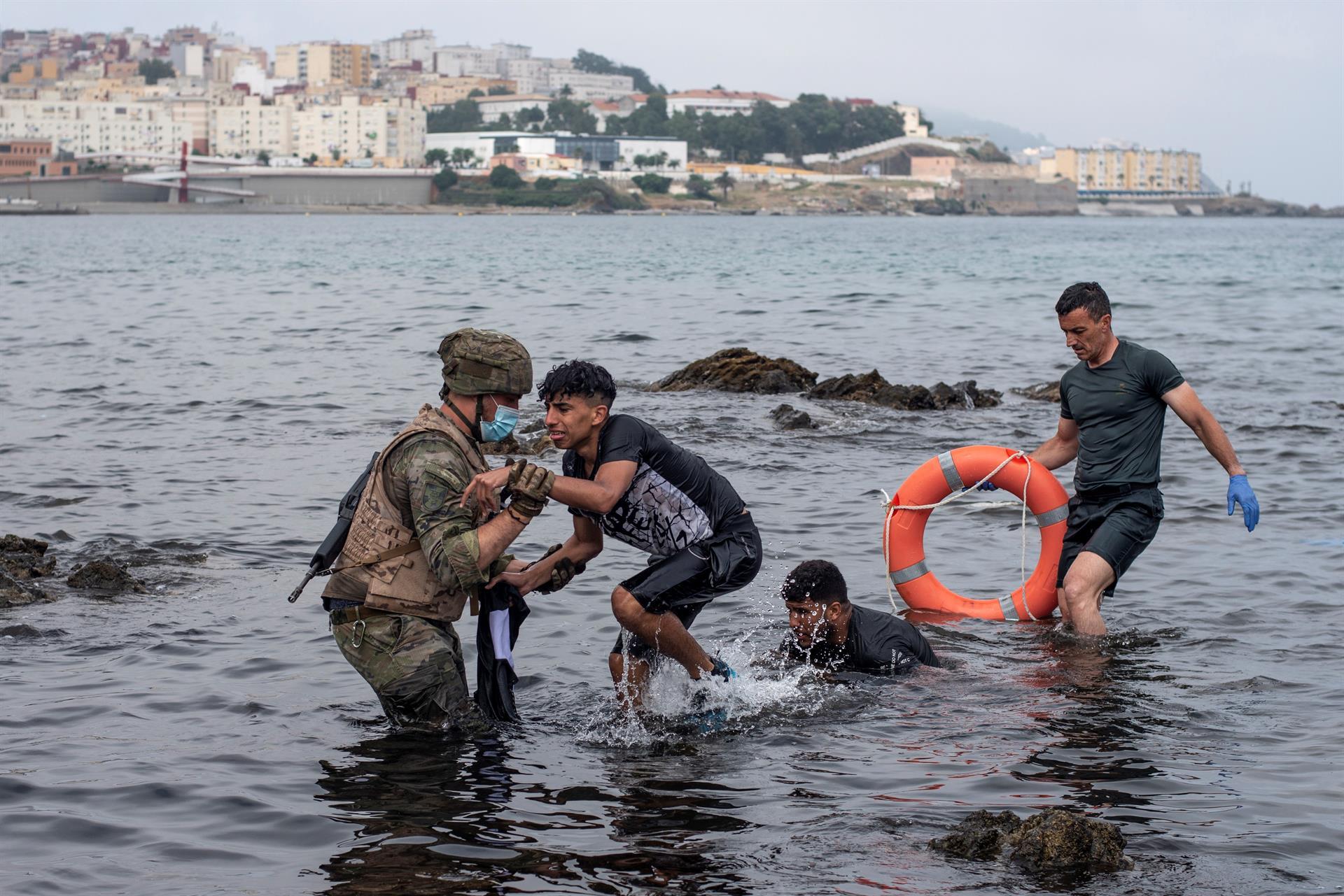 Lo mejor de España y lo peor de Marruecos