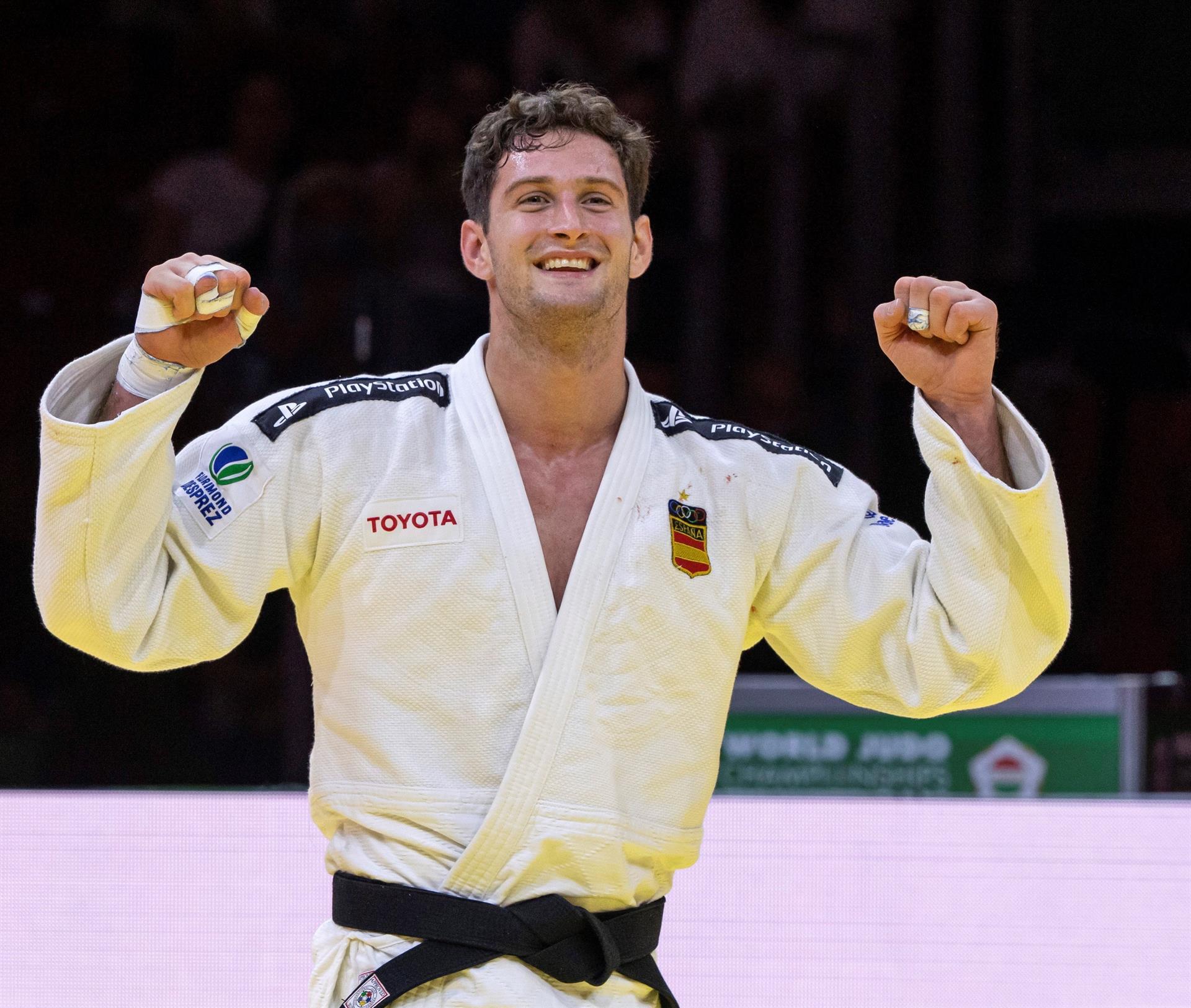 Niko Sherazadishvili gana su segundo Mundial y hace historia para el judo español