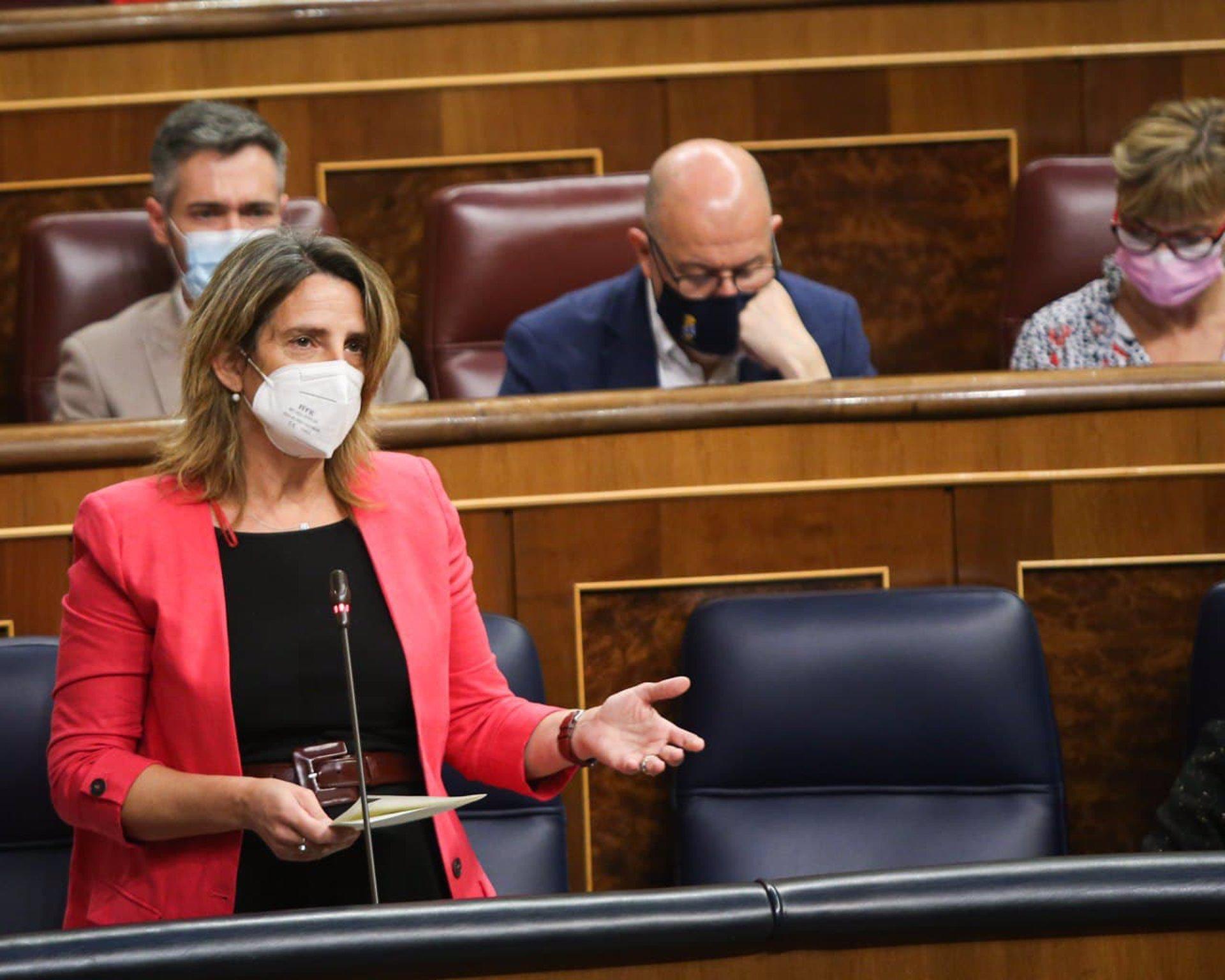 Teresa Ribera sobre las eléctricas