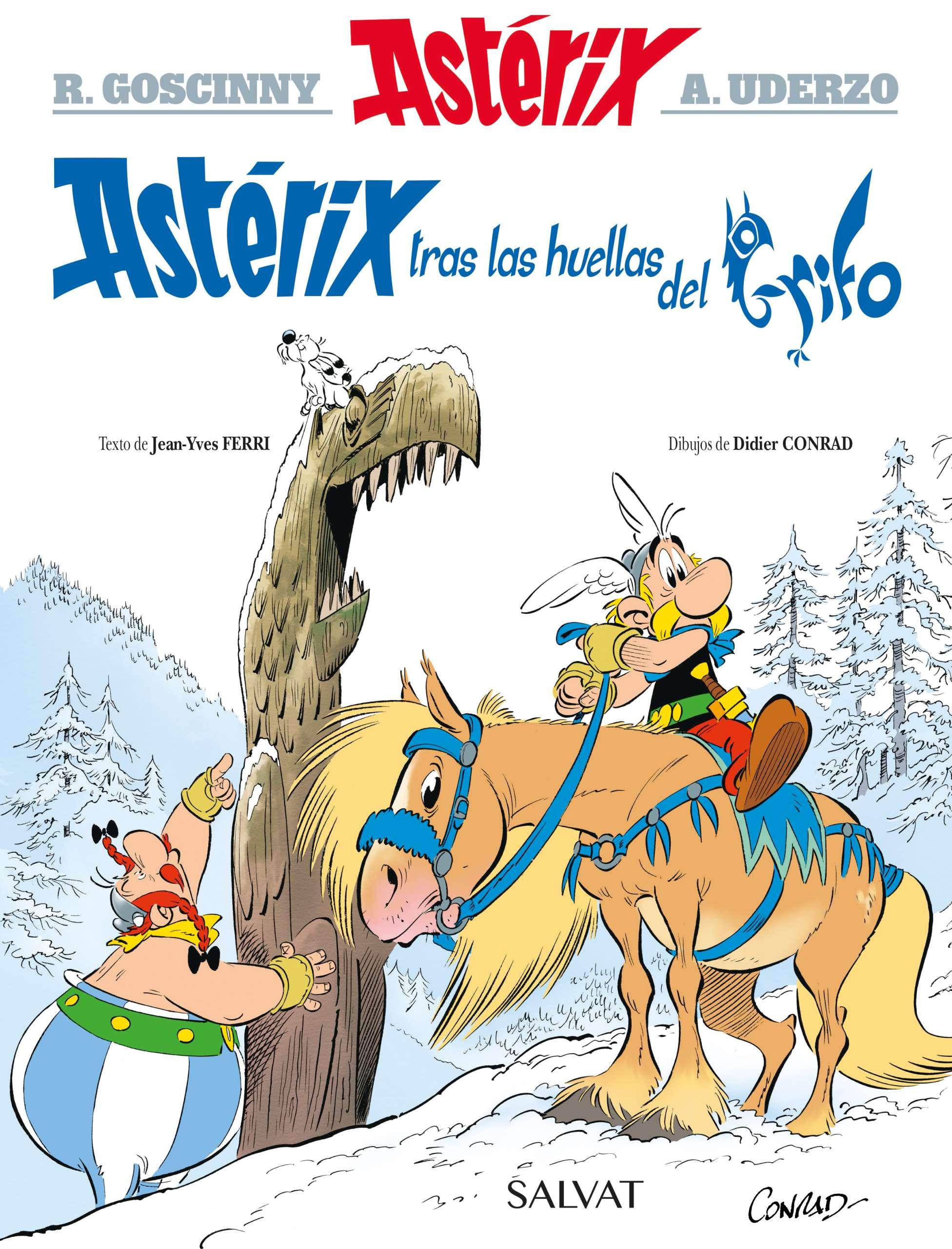 Astérix y el grifo