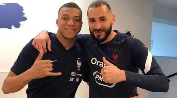 Mbappé y Benzema