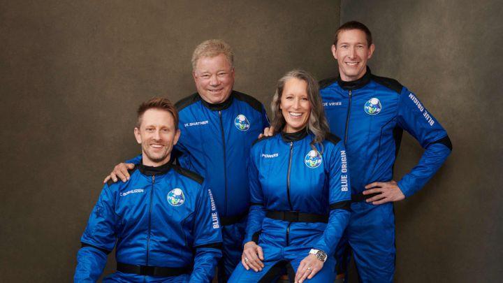 Capitán Kirk Blue Origin