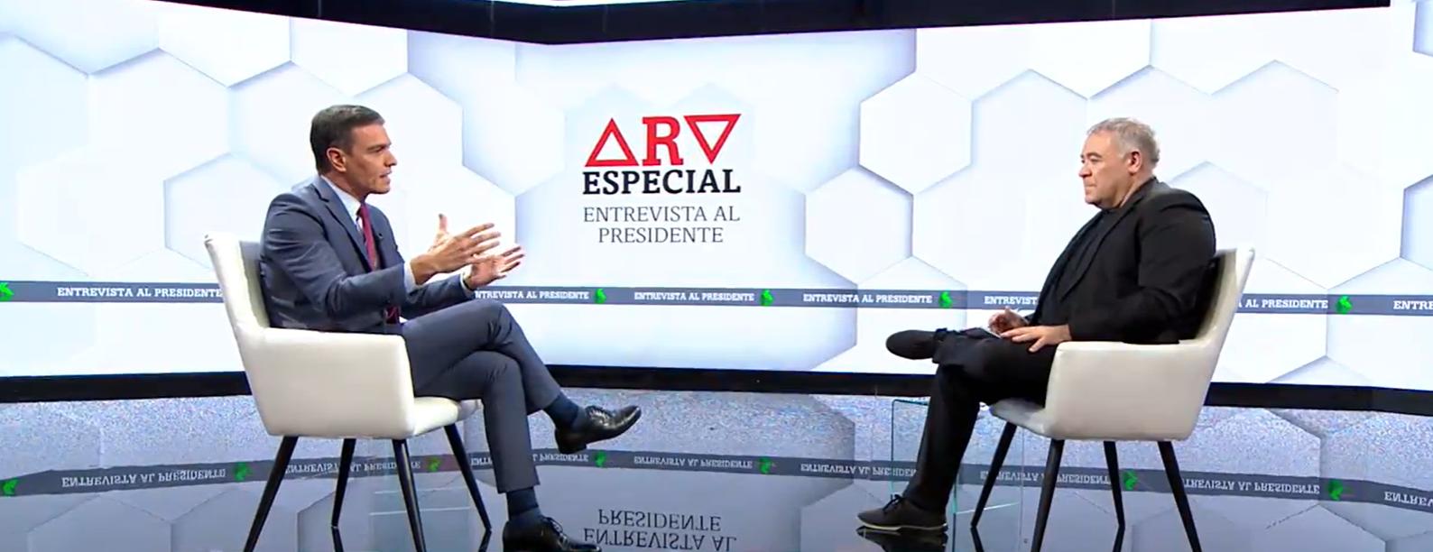 Sánchez Ferreras entrevista