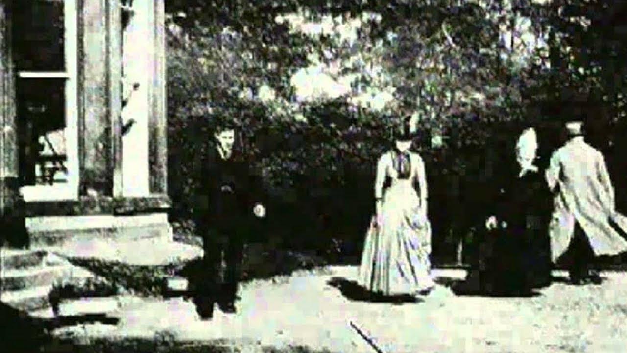 Escena de 'El jardín de Roundhay', la película más antigua de la historia del cine.