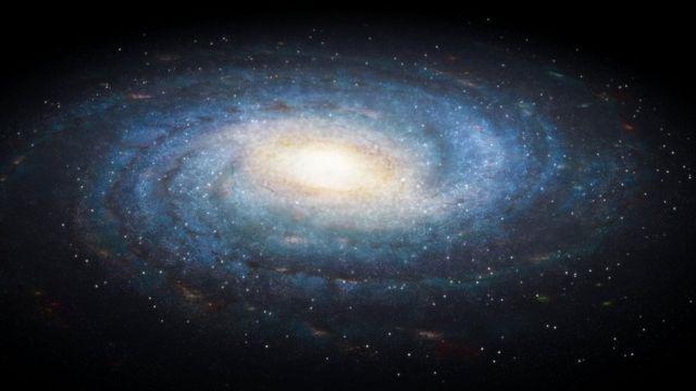 Señales de radio Vía Láctea